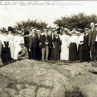 Lynn Historical Society at Parkhill, Marblehead Neck, Aug. 9, 1911