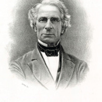 Portrait of James N. Buffum, Mayor of Lynn, 1869