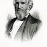 Portrait of Peter M. Neal, Mayor of Lynn, 1862-1865