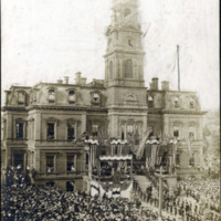 Theodore Roosevelt visits Lynn, August 25, 1902