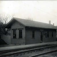 East Lynn Station, B&M Railroad