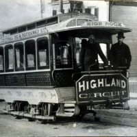 Highland circuit car, 1887
