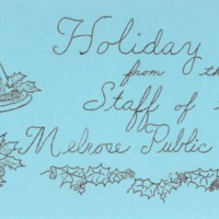 Holiday fare from the staff of the Melrose Public Library