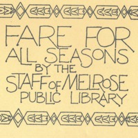 Fare for all seasons by the staff of Melrose Public Library