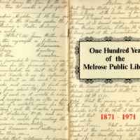 One hundred years of the Melrose Public Library