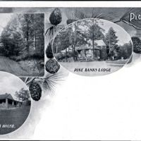 Picturesque Melrose: The Ravine Road, Pine Banks Lodge, Bellevue Golf Club House.