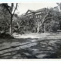 Library after the 1938 hurricane