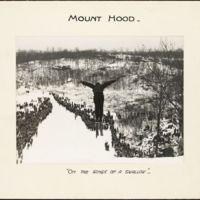 Mount Hood : on the wings of a swallow