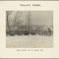 Mount Hood : Harry Dockam and his huskies