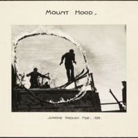 Mount Hood : jumping through fire