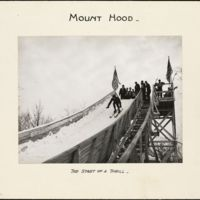 Mount Hood : the start of a thrill