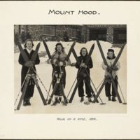 Mount Hood : four of a kind