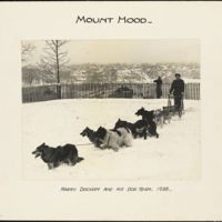 Mount Hood : Hary Dockam and his dog team