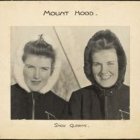 Mount Hood : snow queens
