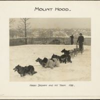 Mount Hood : Harry Dockam and his team