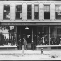 Exterior of George Jacobs Store