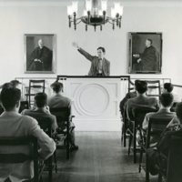 Bulfinch Hall and the Debate Room