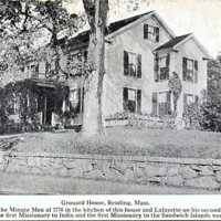 Grouard house, Reading, Mass.