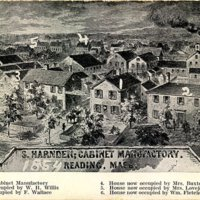 S. Harnden  cabinet manufactory, Reading, Mass.