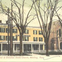 Elmwood Hotel and Christian Union Church, Reading, MA