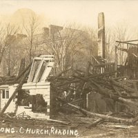 [Ruins of the Congregational Church, Reading, MA]
