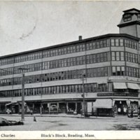 Black's block, Reading, Mass.