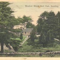 Meadowbrook Golf Club, Reading, Mass.