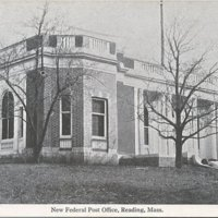 [New federal post office, Reading, Mass.]