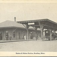Boston and Maine station, Reading, Mass.