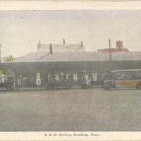 B and M station, Reading, Mass.