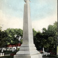 Soldier's monument, Reading, Mass.
