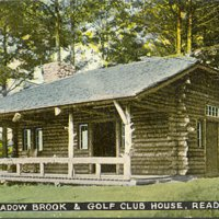 Meadowbrook and golf club house, Reading, Mass.
