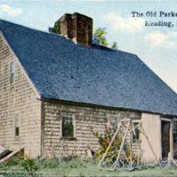 The old Parker Tavern, Reading, Mass.