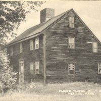 Parker Tavern  built 1694, Reading, Mass.
