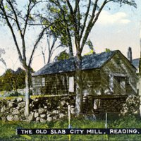 The Old Slab City Mill, Reading, Mass.