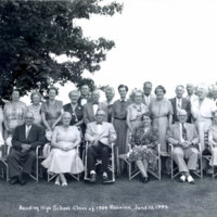 [Reading High School class of 1904 50th reunion]