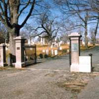 Laurel Hill cemetery entrance