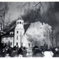 [Fire at First Baptist Church]