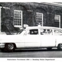 Ambulance purchased 1956