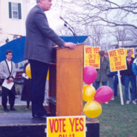 Rally on Reading Common 1990