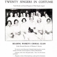 The Reading Women's Choral Class