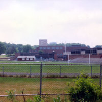 Football field at Reading Memorial High School