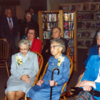 Dedication of Barclay and Bishop local history room