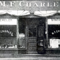 M. F. Charles, jeweler and stationer