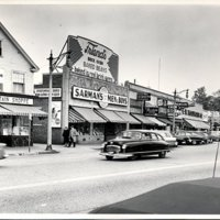 West side of Main Street in  1956