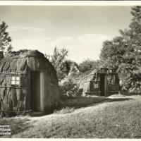 English Wigwams at the Pioneers' Village