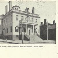"Custom House, Connected with Hawthorne's ""Scarlet Letter"""