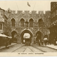 Postcard: The Bargate (South) Southampton