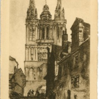 Postcard: Angers - La Cathedrale Saint-Maurice