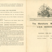 The Manchuria Messenger, Vol. 1 No. II